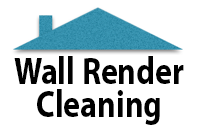 wall render cleaning